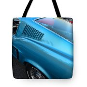 1968 Ford Mustang Fastback  Profile Tote Bag