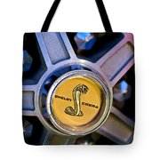 1968 Ford Shelby Gt500 Kr Convertible Wheel Emblem Tote Bag