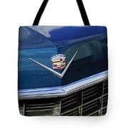 1969 Cadillac Hood Emblem Tote Bag