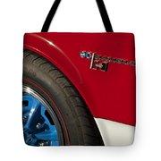 1969 Sc Rambler Wheel Emblem Tote Bag