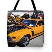 1970 Boss Mustang Tote Bag