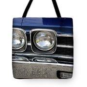 1970 Chevrolet Chevelle Antique Show Car Tote Bag