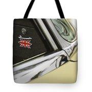 1970 Jaguar Xk Type-e Emblem Tote Bag