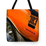 1970 Plymouth Cuda Barracuda 383 Tote Bag