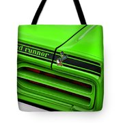 1970 Plymouth Road Runner - Sublime Green Tote Bag