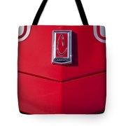 1971 Chevrolet Camaro Hood Emblem Tote Bag