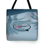 1971 Chevrolet Corvette Gas Cap Emblem Tote Bag
