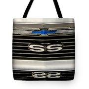 1971 Chevrolet Nova Ss350 Grille Emblem Tote Bag