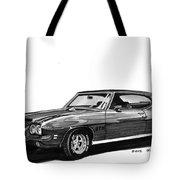 1971 Pontiac G T O Tote Bag