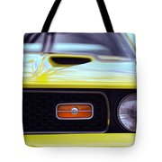 1972 Ford Mustang Mach 1 Tote Bag