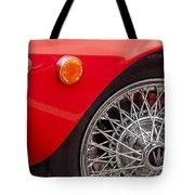 1972 Maserati Ghibli 4.9 Ss Spyder Wheel Tote Bag