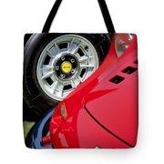 1973 Ferrari 246 Gts Dino Emblem 5 Tote Bag