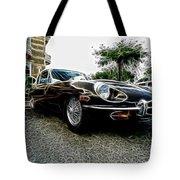 1973 Jaguar Type E Fantasy  Tote Bag