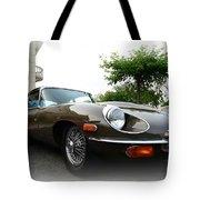 1973 Jaguar Type E Tote Bag