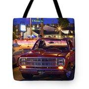 1979 Dodge Li'l Red Express Truck Tote Bag