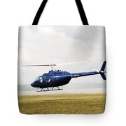 1980 Bell Helicopter Textron Bell 206b Tote Bag