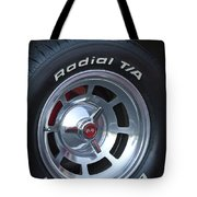 1980 Chevrolet Corvette Wheel Tote Bag