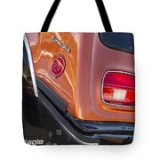 1983 Amc Eagle 4 Wheel Drive Tote Bag