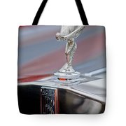 1984 Rolls-royce Silver Spur Hood Ornament Tote Bag