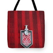 1988 Monte Carlo Ss Crest And Shield Emblem Tote Bag