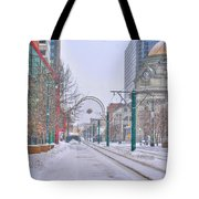 1st Real Snow Golddome 2012 Tote Bag