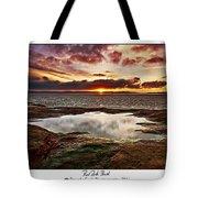 Red Rock Beach Tote Bag