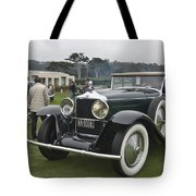 1929 Minerva Type Am Murphy Convertible Sedan Tote Bag