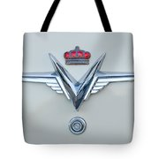1953 Chrysler Imperial Custom Emblem Tote Bag