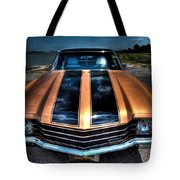 1972 Chevelle Tote Bag