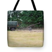 A Belgian Artillery Unit Setting Tote Bag
