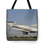 A Dassault Mirage 2000 Of The United Tote Bag