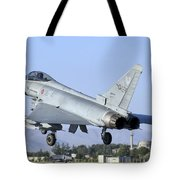 A Eurofighter F-2000 Of The Italian Air Tote Bag