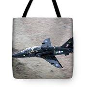 A Hawk Jet Trainer Aircraft Tote Bag