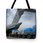 A Japanese Soldier Marshals Vehicles Tote Bag