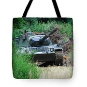 A Leopard 1a5 Mbt Of The Belgian Army Tote Bag