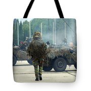 A Recce Or Scout Team Of The Belgian Tote Bag