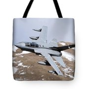 A Royal Air Force Tornado Gr4 Tote Bag