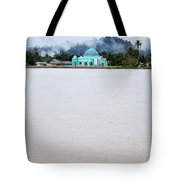 A Small Mosque On The Banks Of The River  Tote Bag