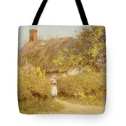 A Surrey Cottage Tote Bag