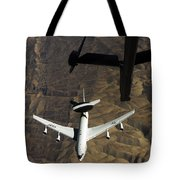 A U.s. Air Force E-3 Sentry Aircraft Tote Bag