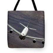 A U.s. Air Force Rc-135 Rivet Joint Tote Bag