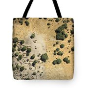 A Village On The Shores Of Lake Chad Tote Bag