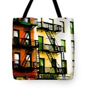 Above The Market Tote Bag