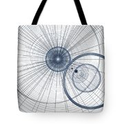 Abstract Circle Art Tote Bag