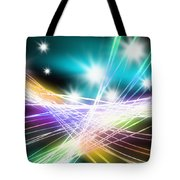 Abstract Of Stage Concert Lighting Tote Bag by Setsiri Silapasuwanchai