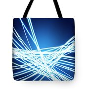 Abstract Of Weaving Line Tote Bag