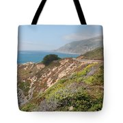 Along Big Sur Tote Bag