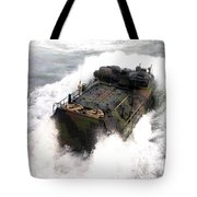 An Amphibious Assault Vehicle Tote Bag