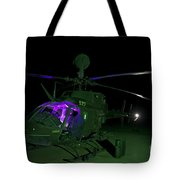An Oh-58d Kiowa Helicopter At Cob Tote Bag