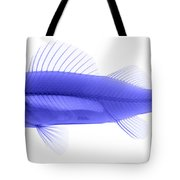 An X-ray Of Yellow Perch Tote Bag